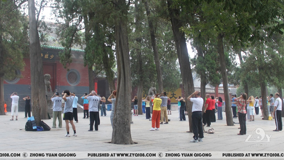 ZYQ Retreat in Shaolin 2015